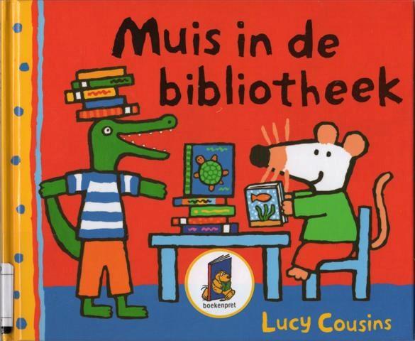Boekenpret muis in de bibliotheek bij kdv hoi pipeloi hoi pipeloi - Te creeren zijn bibliotheek ...